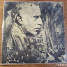 Discos de vinilo: FRANCESC MACIÀ - DISCURSOS (PROCLAMACION DE LA REPÚBLICA CATALANA EN 1931) - EDICION FRANCESA. Lote 211933578