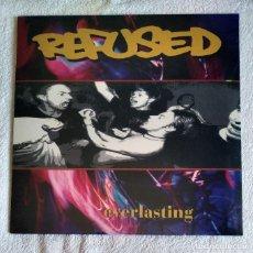 Discos de vinilo: REFUSED - EVERLASTING 12'' MINI LP NUEVO Y PRECINTADO - HARDCORE PUNK METAL. Lote 211936755