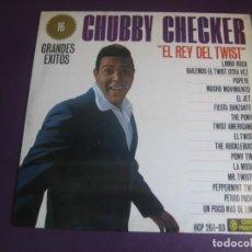 Dischi in vinile: CHUBBY CHECKER LP CAMEO HISPAVOX 1963 - EL REY DEL TWIST - 16 GRANDES EXITOS. Lote 211944422