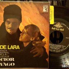 Discos de vinilo: TEMA DE LARA BANDA ORIGINAL DE LA PELÍCULA DOCTOR ZHIVAGO. Lote 211949381