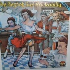 Disques de vinyle: THE BEST OF SUN ROCKABILLY VOL 2 - PORTUGAL LP 1984 - COMO NUEVO.. Lote 211950557