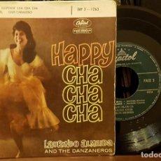 Discos de vinilo: HAPPY CHA CHA CHA - LAURINDO ALMEIDA - AND THE DANZANEROS. Lote 211950813
