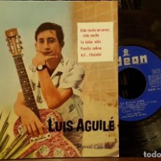 Discos de vinilo: LUIS AGUILÉ - ESTA NOCHE MI AMOR. Lote 211952197