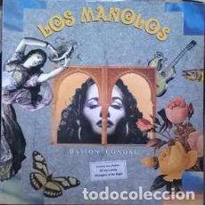 Discos de vinilo: LOS MANOLOS - PASION CONDAL (LP, ALBUM) LABEL:RCA, RCA CAT#: 5C PL-74991, PL 74991 (5C). Lote 211954990
