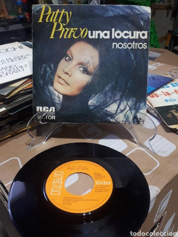 Discos de vinilo: PATTY PRAVO SINGLE UNA LOCURA NOSOTROS RCA 1973 - Foto 2 - 211965468