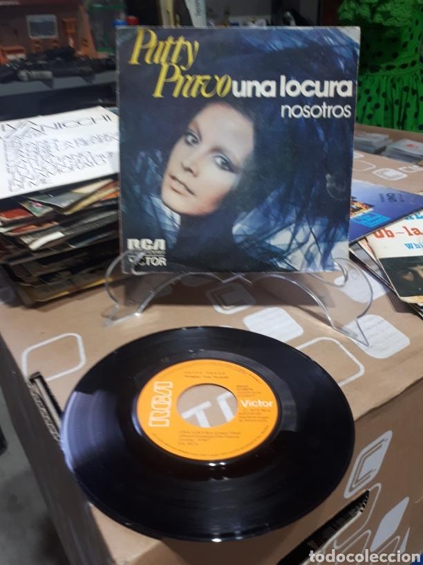 PATTY PRAVO SINGLE UNA LOCURA NOSOTROS RCA 1973 (Música - Discos - Singles Vinilo - Canción Francesa e Italiana)