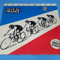 Discos de vinilo: KRAFTWERK - TOUR DE FRANCE 1983. Lote 211967975