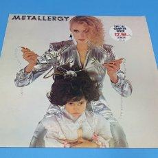 Discos de vinilo: METALLERGY- VARIOUS ARTISTS. Lote 211969122