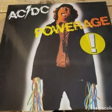 Discos de vinilo: AC DC - POWERAGE - LP - ATLANTIC 1978 GERMANY K50483. Lote 211976906