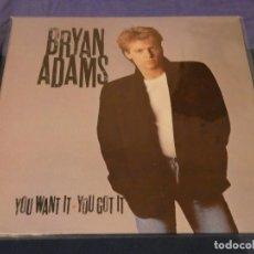 Discos de vinilo: EXPRO LP ESPAÑA 1981 BRYAN ADAMS YOU WANT IT YOU GOT IT MUY BUEN ESTADO. Lote 211990252