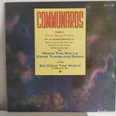Discos de vinilo: COMMUNARDS – THE MULTIMIX. Lote 211997673