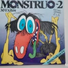 Discos de vinilo: MONSTRUO 2 2 LP 30 ÉXITOS POLYGRAM 1984. Lote 211998582
