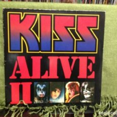 Discos de vinilo: KISS - ALIVE II DOBLE LP DE VINILO CARPETA DOBLE MADE IN GERMANY. Lote 211998943