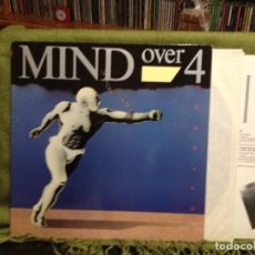 Discos de vinilo: MIND OVER 4 - OUT HERE/ (ROCK, HARD ROCK) RARO LP MADE IN USA 1987. NM/NM. Lote 212000410