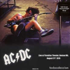 Discos de vinilo: AC/DC ‎– PARADISE THEATER BOSTON MA, AUGUST 21ST 1978 -LP-. Lote 212001720