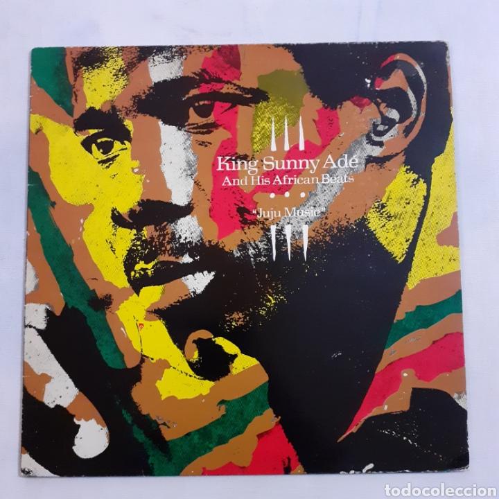 KING SUNNY ADÉ. JUJU MUSIC. I-205103. ESPAÑA 1982. DISCO VG+. CARÁTULA VG+. (Música - Discos - LP Vinilo - Étnicas y Músicas del Mundo)