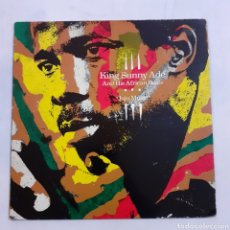 Discos de vinilo: KING SUNNY ADÉ. JUJU MUSIC. I-205103. ESPAÑA 1982. DISCO VG+. CARÁTULA VG+.. Lote 212002072