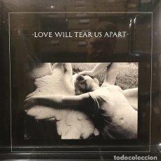 Discos de vinilo: JOY DIVISION – LOVE WILL TEAR US APART -EP-. Lote 212002688