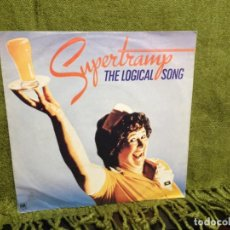 Discos de vinilo: SUPERTRAMP - THE LOGICAL SONG / 7' VINYL MADE IN GERMANY 1979. NM-NM. Lote 212003641