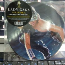 Discos de vinilo: LADY GAGA SINGLE PICTURE DISC POKER FACE 2009. Lote 212013966