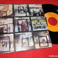 Discos de vinilo: JAIME MOREY SOLO LAS ROSAS/EL ENCUENTRO 7'' SINGLE 1969 RCA VICTOR. Lote 212015107