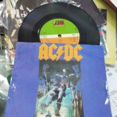 Discos de vinilo: AC DC SINGLE WHO MADE WHO U.K. 1986. Lote 212015503