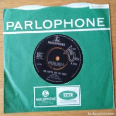 Discos de vinilo: ADAM FAITH - STOP FEELING SORRY FOR YOURSELF/ I'VE GOTTA SEE MY BABY ( SINGLE). Lote 212015880