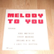 Disques de vinyle: MELODY TO YOU - GOD MOTHER - PLAY BAND 1976. Lote 212033282