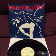 "Discos de vinil: THE POWER STATION - GET IT ON, MAXI-SINGLE 12"". Lote 212034273"