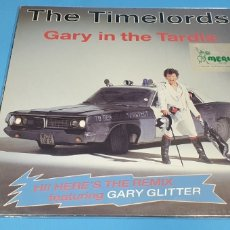 Discos de vinilo: THE TIMELORDS - GARY IN THE TARDIS. Lote 212054998