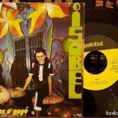 Discos de vinilo: ISABEL - LA RUEDA - FANTASMAS A GOGO. Lote 212056970