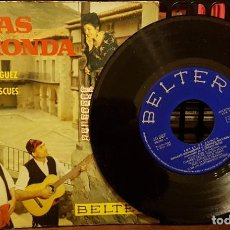 Discos de vinilo: JOTAS DE RONDA - CUANDO SALGO POR LA NOCHE. Lote 212057205