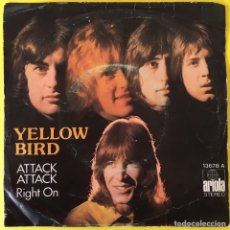 Discos de vinilo: YELLOW BIRD ATTACK ATTACK SINGLE EDIC ESPAÑA. Lote 212062660