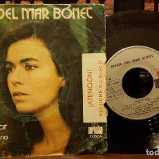 Discos de vinilo: MARIA DEL MAR BONET - VIGILA EL MAR. Lote 212068477