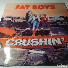 Discos de vinilo: LP - FAT BOYS ?– CRUSHIN' - 831 948-1 (VG+ / VG+) SPAIN 1987. Lote 212068717