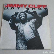 Discos de vinilo: JIMMY CLIFF - HOT SHOT. Lote 212070126