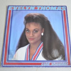 Discos de vinilo: EVELYN THOMAS - COLD SHOULDER. Lote 212071872