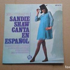 Discos de vinilo: SANDIE SHAW - MARIONETAS EN LA CUERDA EP 4 TEMAS 1967 EDICION ESPAÑOLA. Lote 212074156