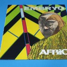 Discos de vinilo: EMBRYO - ÁFRICA. Lote 212074272
