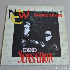 Discos de vinilo: COLD SENSATION - BELGIAN MUSICTRAIN. Lote 212075087