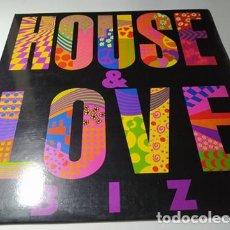Disques de vinyle: LP - HOUSE & LOVE IBIZA VOL 1 - E-LP-1215 (VG+ / VG+) SPAIN 1989. Lote 212083192