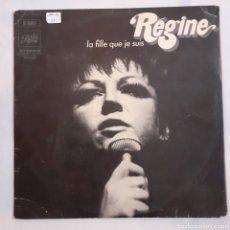 Discos de vinilo: REGINE. LA FILLE QUE JE SUIS. 1970 FRANCIA. 2 C 062-10700.. Lote 212085986