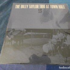 Discos de vinilo: BOX 46 LP JAZZ USA ANTIGUO BILLY TAYLOR TRIO AT TOWN HALL STATUS RECORDS VARIAS MARCAS UNA HACE CLAC. Lote 212086377