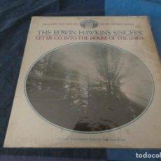 Discos de vinilo: BOX 46 LP GOSPEL USA 60S EDWIN HAWKINS SINGERS LET US GO.... PAVILLION USA CA 1969 CIERTO USO LEVE. Lote 212086580