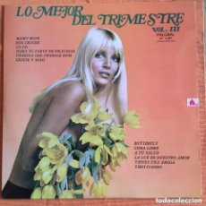 Discos de vinilo: LO MEJOR DEL TRIMESTRE LP PALOBAL INCLUYE MI GENERACION TRISTE Y SOLO. Lote 212098290