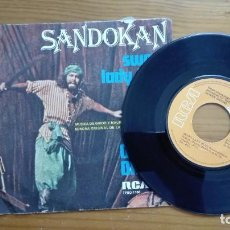 Discos de vinilo: SANDOKAN SINGLE SWEET LADY BLUE OLIVER ONIONS RCA 1976 BSO. Lote 212102097