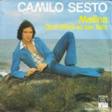 Discos de vinilo: CAMILO SESTO MELINA. Lote 212111863