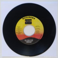 "Discos de vinilo: ASSASSIN - WE A BAD FROM / KIPRICH - BAD MAN NO GAL [REGGAE / DANCEHALL ORIGINAL] 7"" 45RPM [2003]. Lote 212112627"