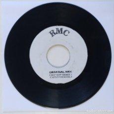 "Discos de vinilo: CAPLETON - MI FOOD (HIP HOP REMIX) [REGGAE / DANCEHALL ORIGINAL VINYL] 7"" 45RPM [2000]. Lote 212115551"