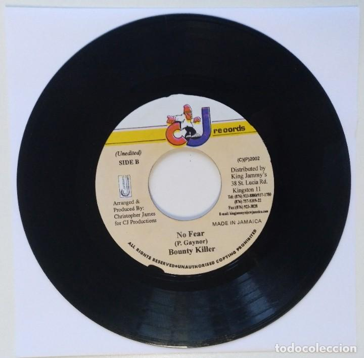 "BOUNTY KILLER - NO FEAR [REGGAE / DANCEHALL ORIGINAL VINYL] 7"" 45RPM [2002] (Música - Discos - Singles Vinilo - Reggae - Ska)"
